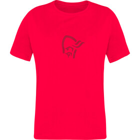 Norrøna /29 Viking Cotton T-Shirt Kids crisp ruby